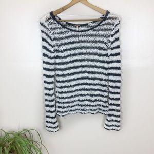 [Free People] Scoop Neck Fringe Style Sweater